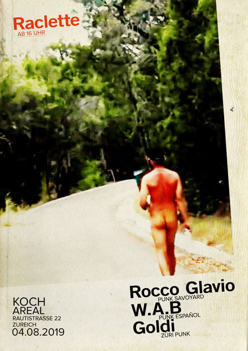 Rocco Glavio W.A.B Goldi Live Koch Areal 08.2019