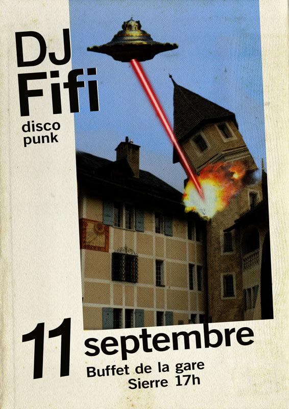 DJ Fifi 11 septembre 2020, Sierre | Censuré