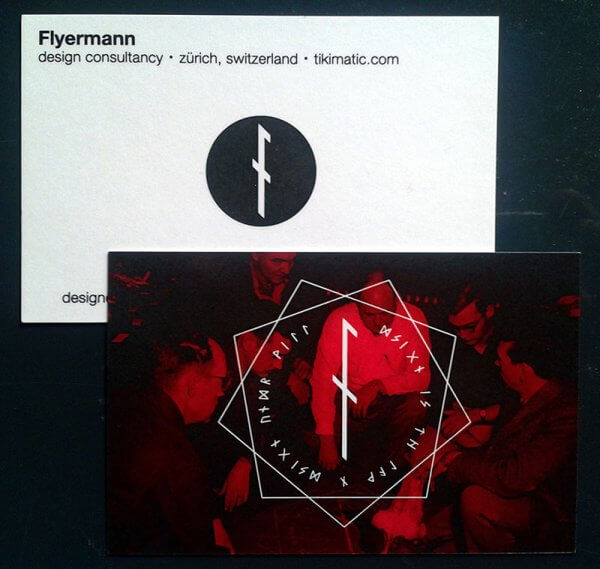Flyermann Business Cards