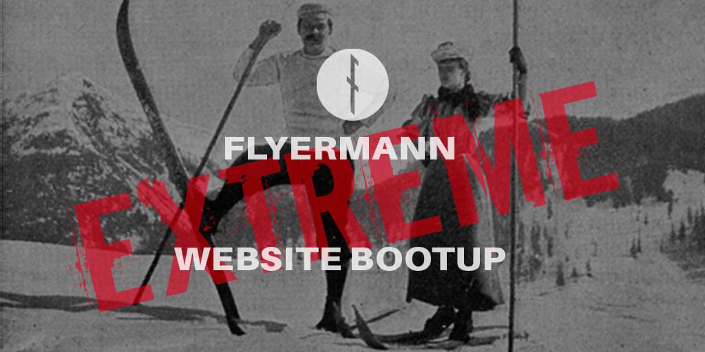 Extreme Website Bootup by Flyermann Design